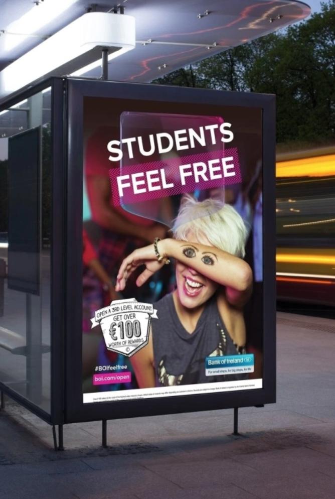 Students feel free